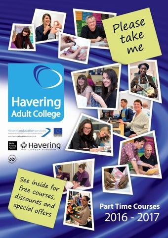 Havering Adult College, Romford, Reino Unido. le gusta · 4 hablando de esto. Havering Adult College se estableció en y ha estado ofreciendo.