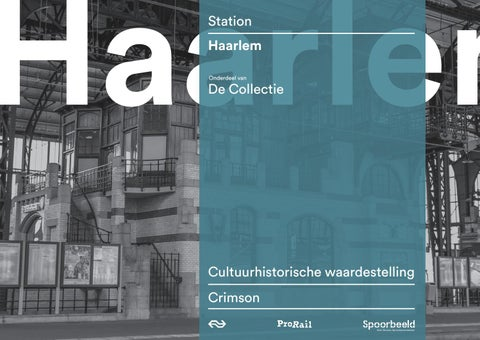8c86f99c73d Waardestelling station Haarlem by Stations - issuu