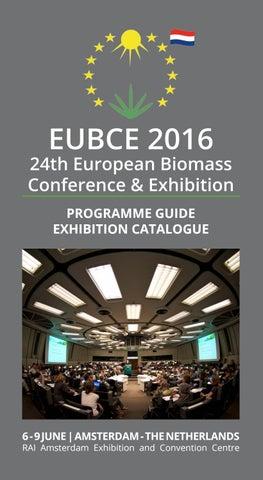 EUBCE 2016 Programme guide by ETA S r l  - issuu