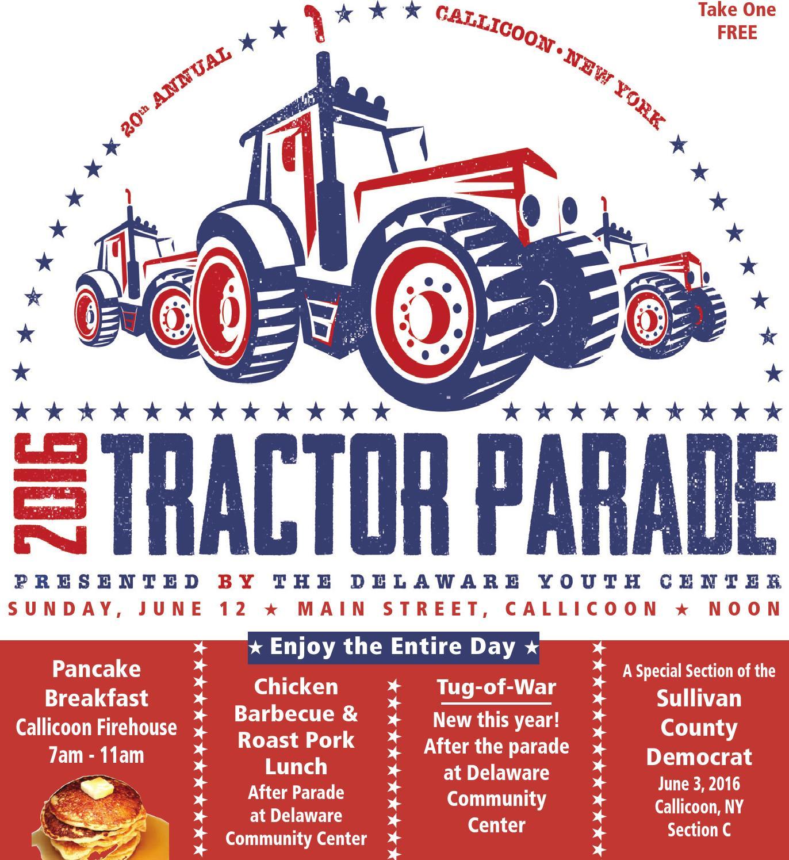 Callicoon Tractor Parade 2016 by Sullivan County Democrat