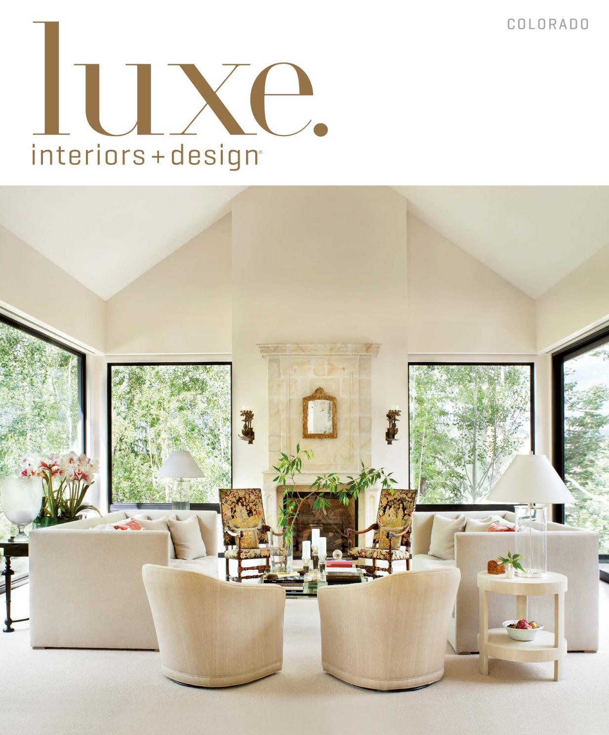 Cuisine D Angle Avec Bar luxe magazine july 2016 coloradosandow® - issuu