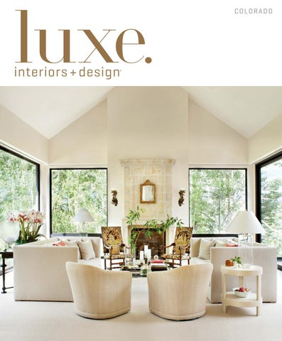 Luxe Magazine July 2016 Colorado By SANDOW®   Issuu