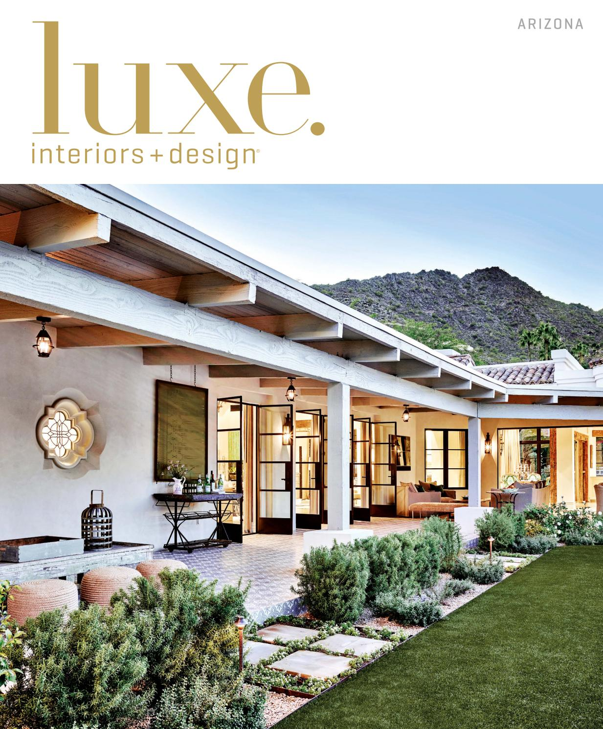 Luxe Magazine July 2016 Arizona By SANDOWR