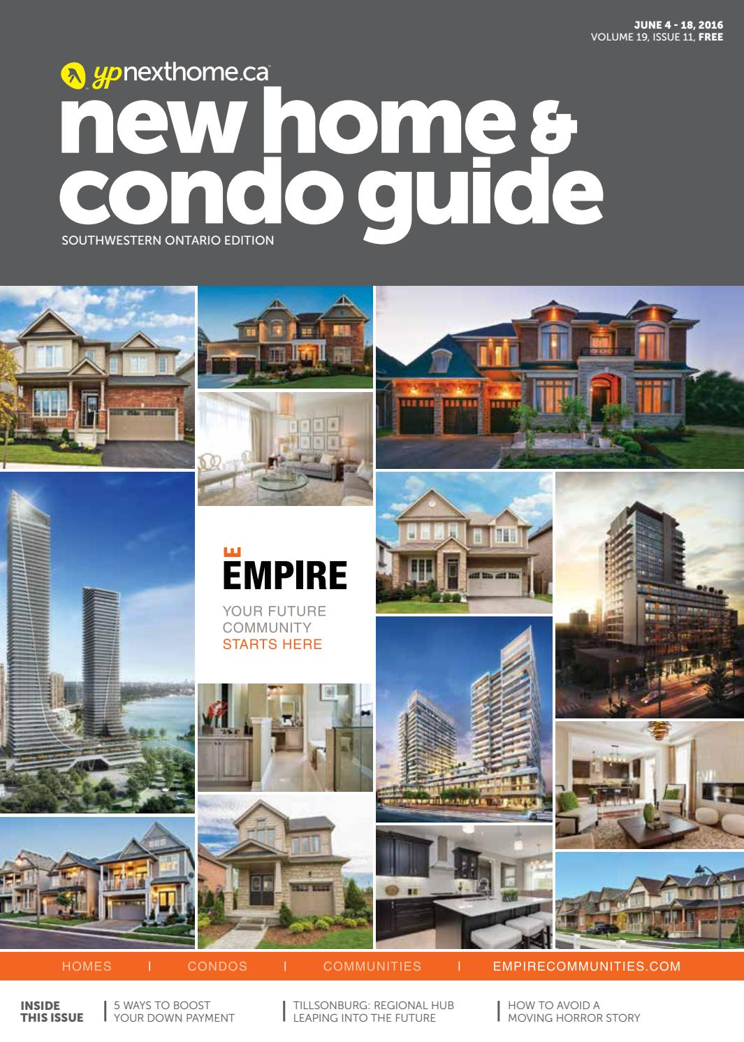 Southwestern Ontario New Home And Condo Guide Jun 04 2016 By