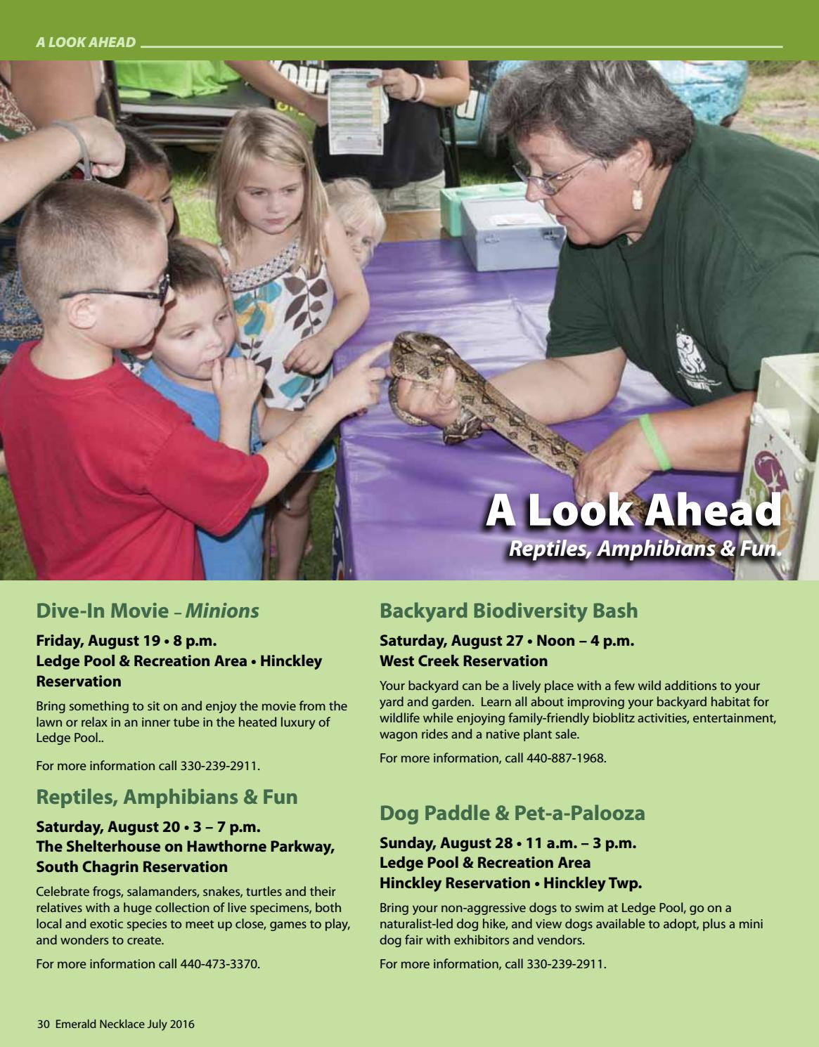 emerald necklace july 2016 by cleveland metroparks issuu