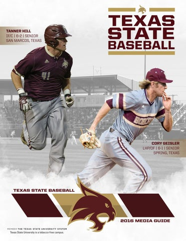 2016 Baseball Media Guide By Texas State Athletics Issuu