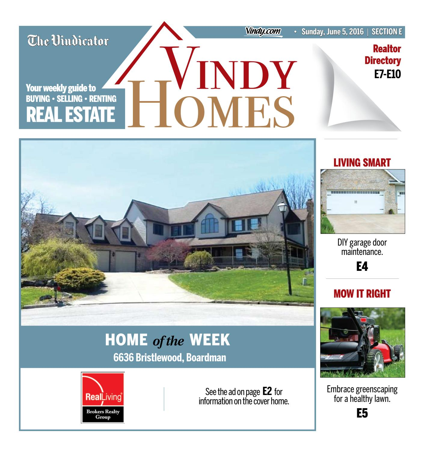 Vindy Homes - June 5, 2016 by The Vindicator - issuu