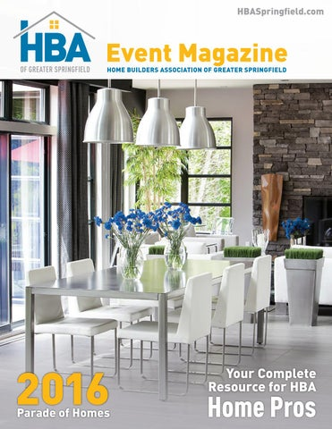 Hba Event Magazine 2016 Parade Edition By Home Builders