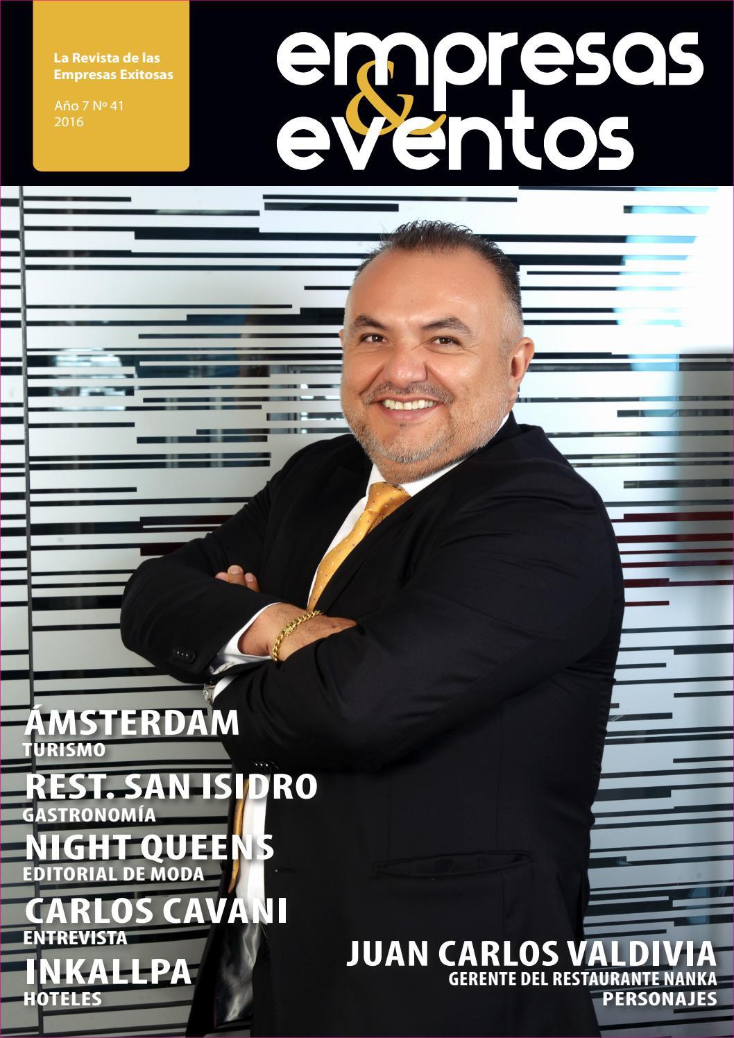 Revista Empresas y Eventos / Edición 41 by Eventos Internacionales ...