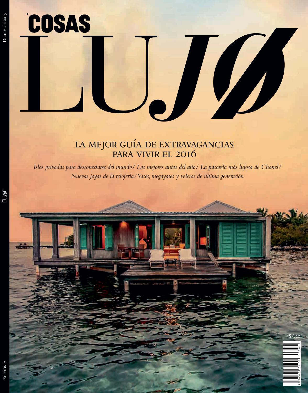 Revista Lujo - Edición 7 by Revista COSAS Perú - issuu 168ed502be1