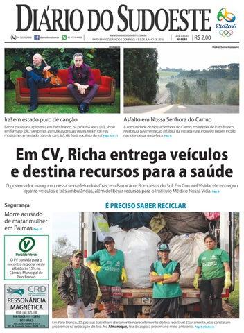 Diário do sudoeste 04 e 05 de junho de 2016 ed 6648 by Diário do ... 9954c05422f
