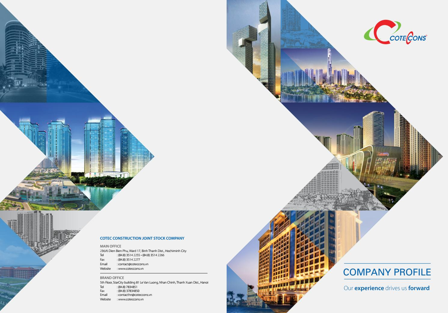 Company profile coteccons by lebrand issuu for Information technology company profile template