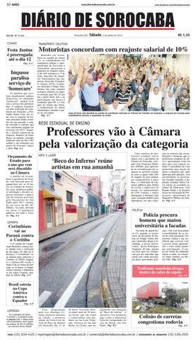 Edição de 04 de junho de 2016 by DIÁRIO DE SOROCABA - issuu 66fbf2d9e18ae