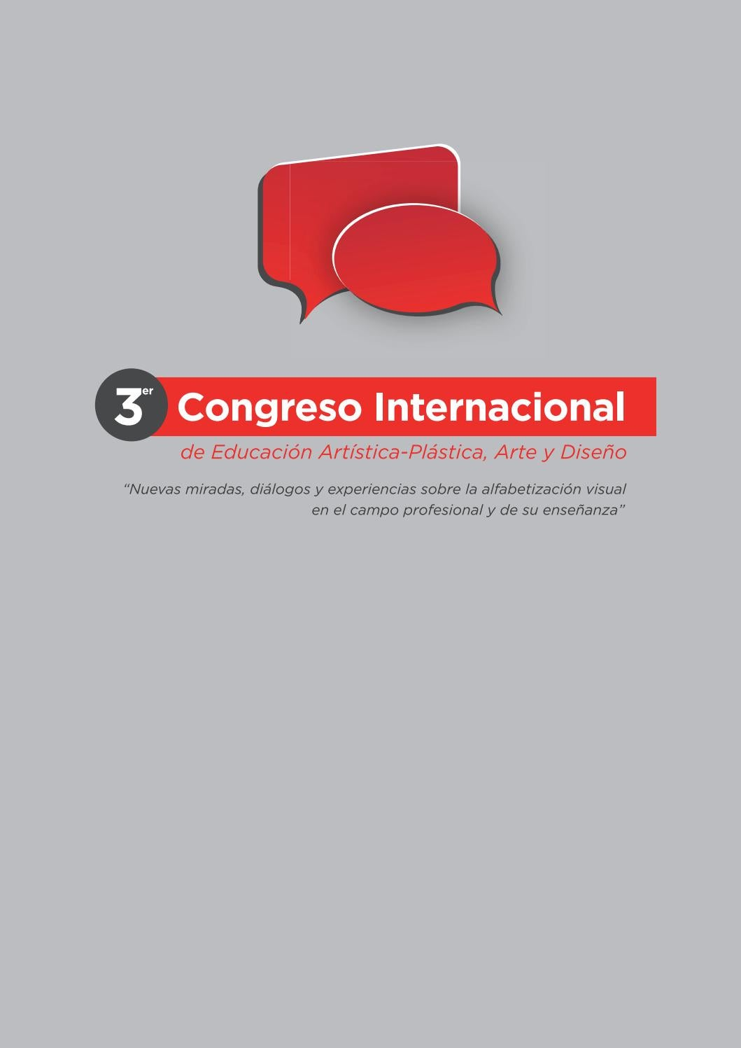 Libro 3er Congreso Internacional de Educación Artística-Plástica ...