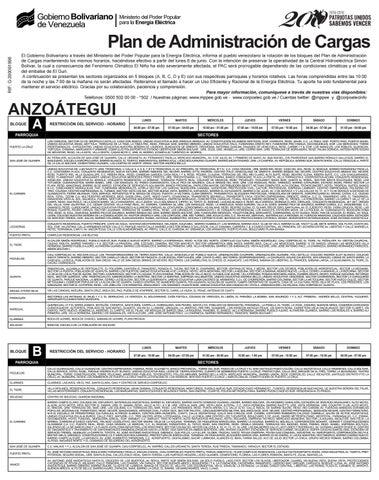 3494c7d05 Plan de Administración de Cargas by Diario Panorama - issuu