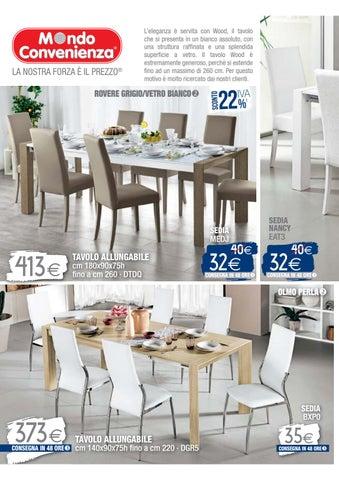 Tavolo Wood Bianco Mondo Convenienza.Mondo Conevenienza Catalogo Estate 2016 1 By Mobilpro Issuu