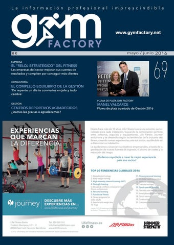 new product ae67a 9bdea GESTIÓN   Nº69 by Gym Factory Magazine - issuu