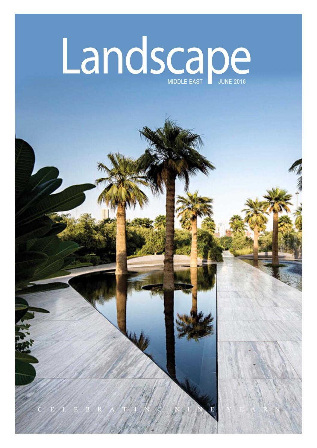 Landscape Magazine June 2016 By Allan Castro Issuu