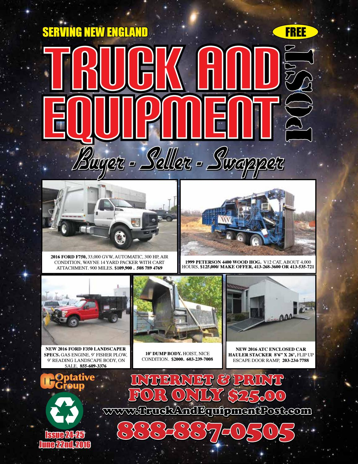 Truck Equipment Post 24 25 2016 By 1clickaway Issuu Pacar W900 Fuse Diagram 2001