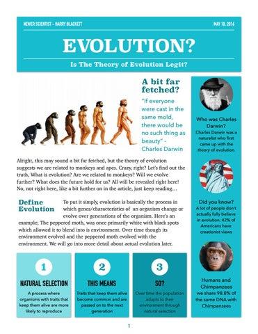 Evolution pdf of darwin theory charles