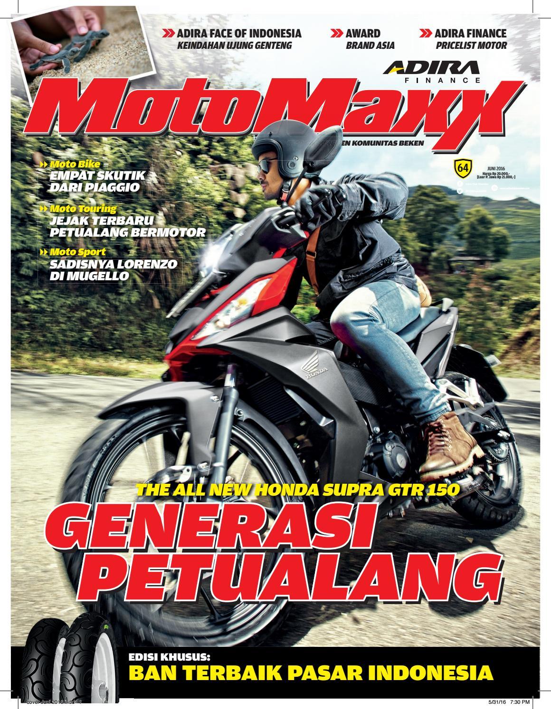 Motomaxx 06 2016 By Adira Member Issuu All New Cb 150r Streetfire Stallion Black Kab Semarang
