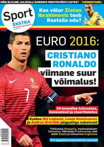 8b358b3ecc6 Sport Ekstra/Õhtulehe jalgpalliajakiri juuni 2016 by SL Õhtuleht AS ...