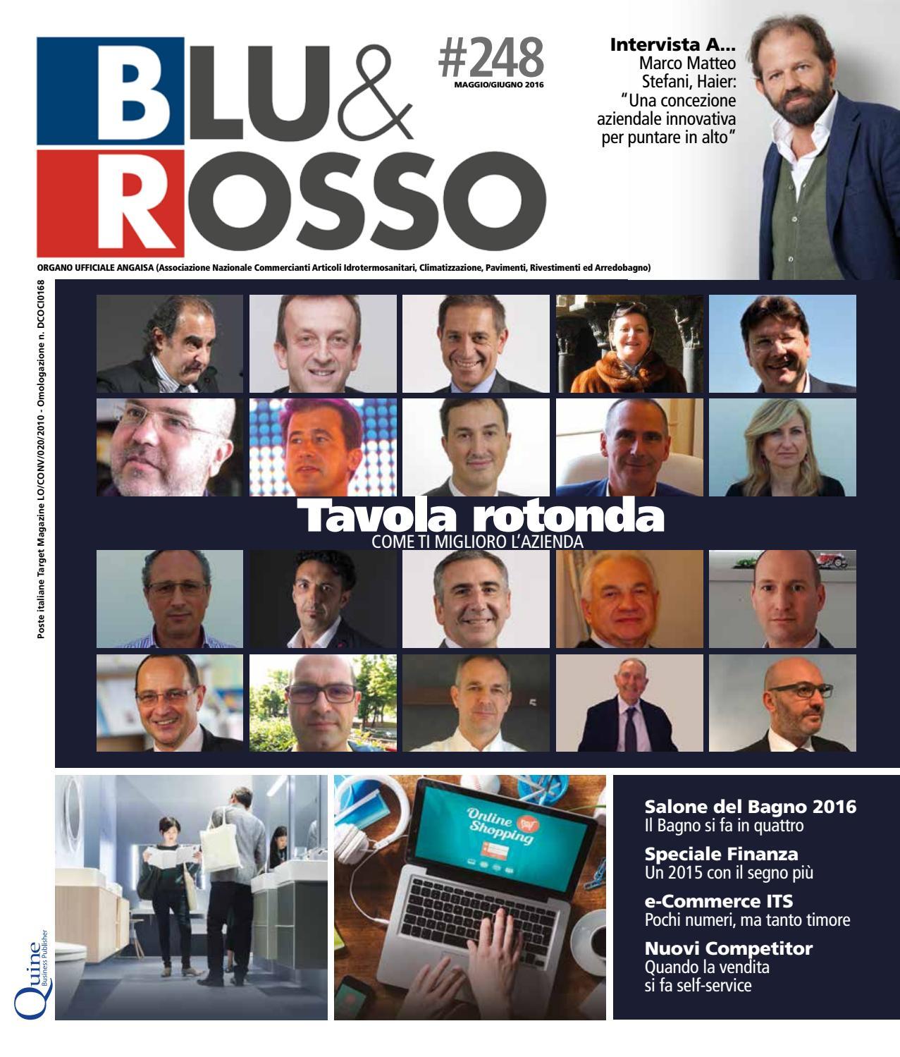 Arredo Bagno Bologna Manzini.Blu Rosso 248 Maggio Giugno 2016 By Quine Business Publisher Issuu