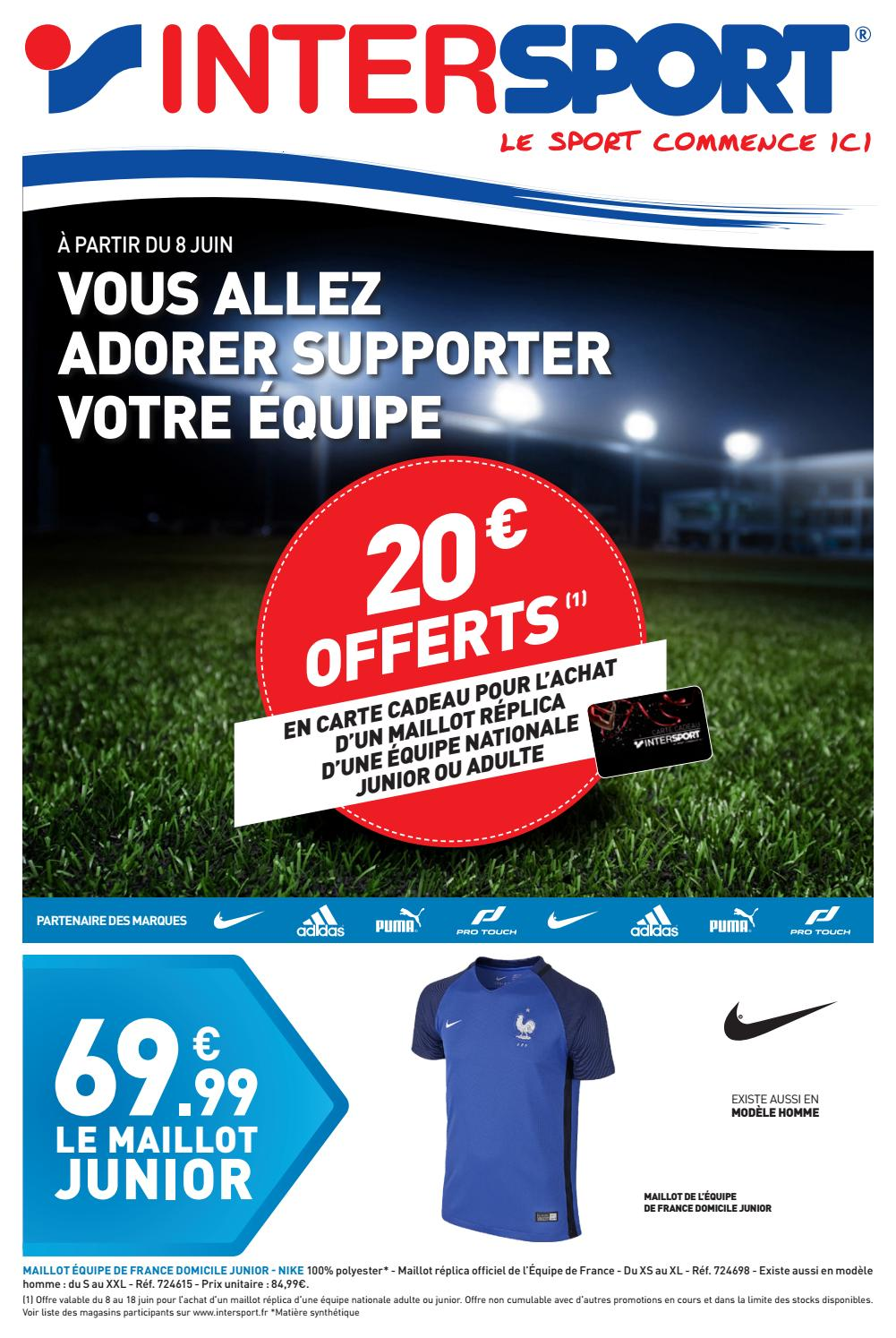 Issuu France Intersport PagesBy 20168 Euro kZTwiOuPX