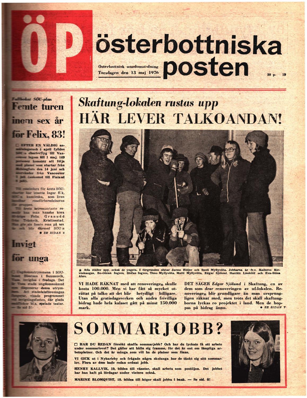 sale retailer 50392 b22a1 Österbottniska Posten (ÖP) nr. 19 1976 by Österbottniska Posten - issuu