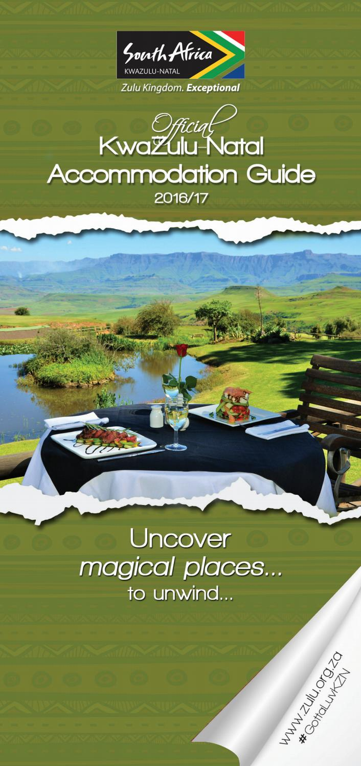 KZN Accommodation Guide 2016/17 by Lyn G - issuu