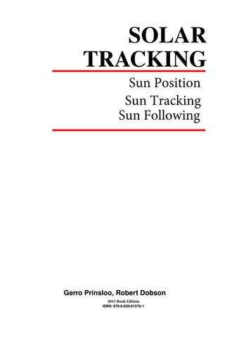 solar tracking hardware n software ebook by gerro j prinsloo issuu rh issuu com