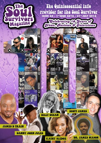 2e8c25aaa9960 Issue 64 the 10th Anniversary edition by The Soul Survivors Magazine ...