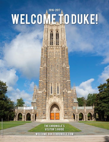 7340c81458ff Welcome to Duke Visitor s Guide 2016 by Duke Chronicle - issuu