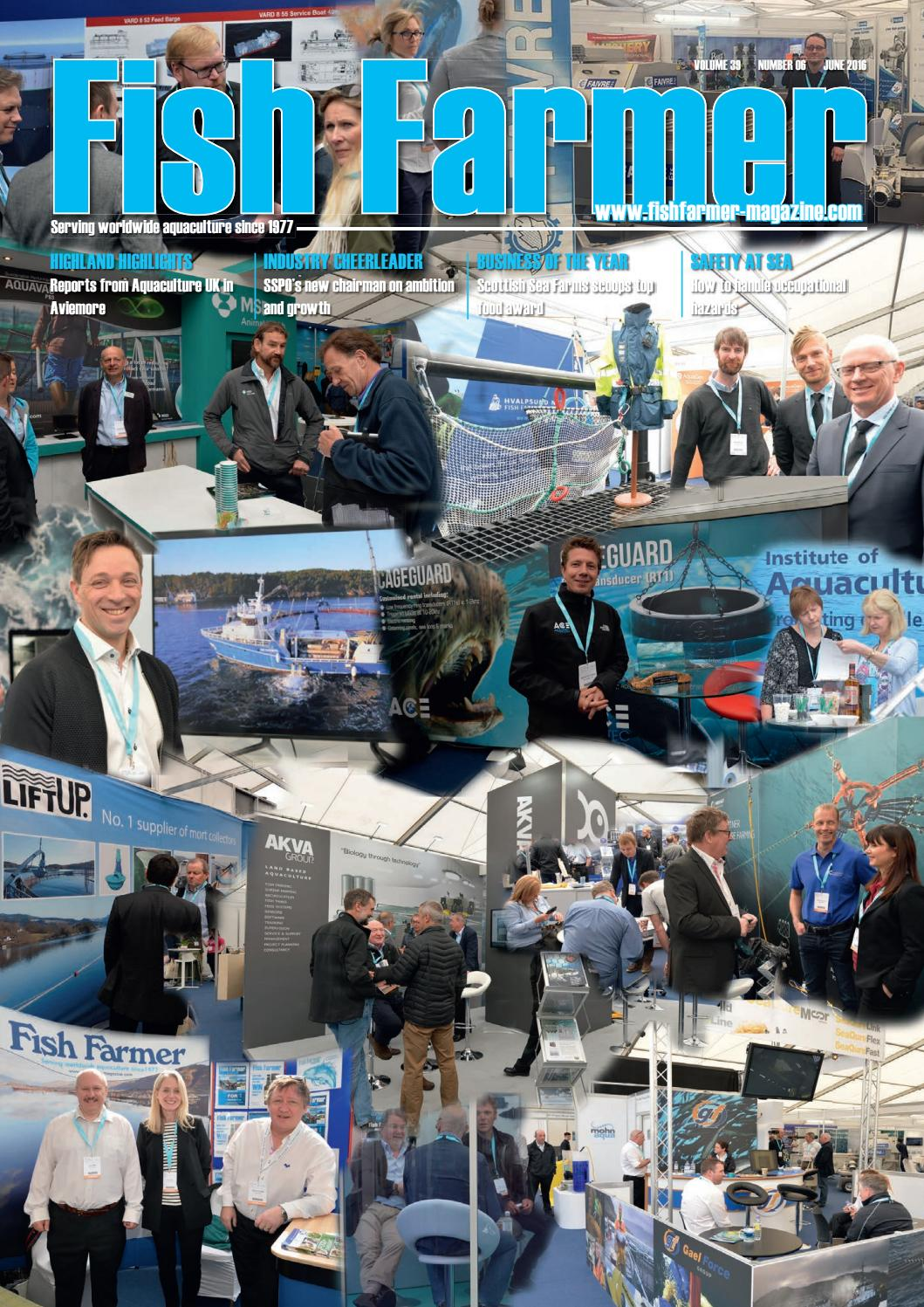 Fish Farmer Magazine June 2016 by Fish Farmer Magazine - issuu