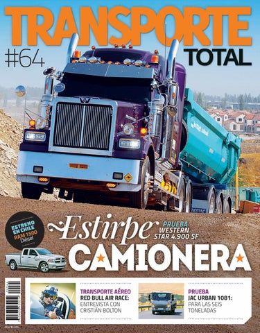 Total Revista Transporte Chile Nº 64febrero Issuu 2016By Rs Xn0Z8wkONP