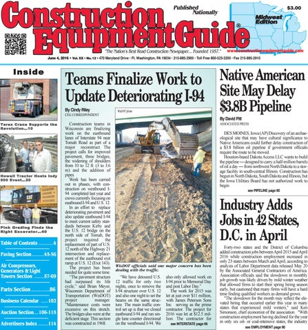 Midwest 12 2016 by Construction Equipment Guide - issuu