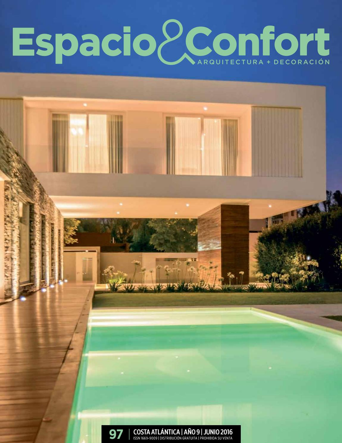 97 Costa Junio 2016 By Revista Espacio Confort Arquitectura  # Muebles Luberto Mdp
