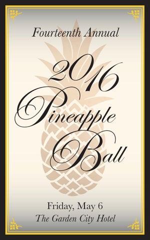 Fourteenth Annual Pineapple Ball- Garden City Chamber Of Commerce