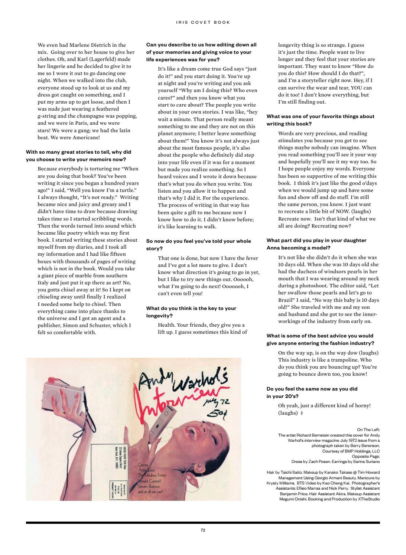 Iris 02 The Art Issue 2016 Eve Hewson By Iriscovetbook Issuu