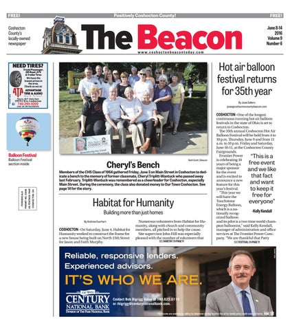 June 8 2016 Coshocton County Beacon By The Coshocton County