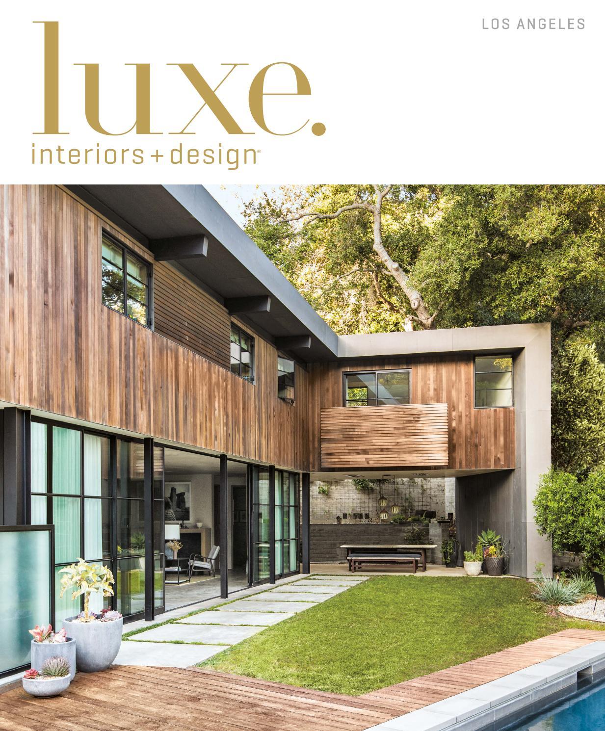 Luxe Magazine July 2016 Los Angeles By Sandow Media LLC