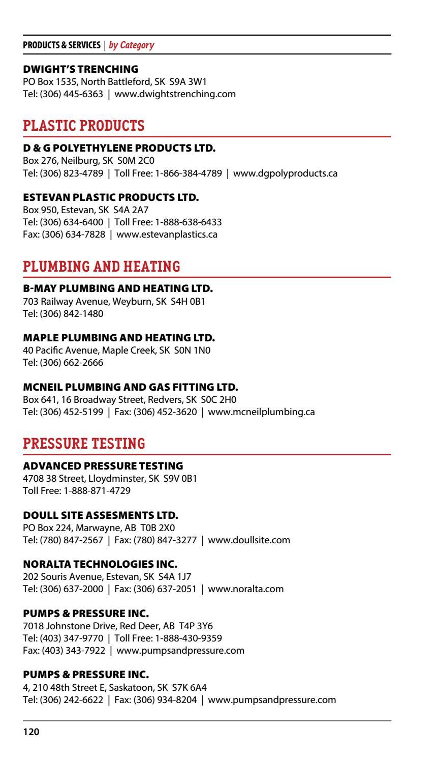 Saskatchewan Oil Directory 2016 by DEL Communications Inc  - issuu