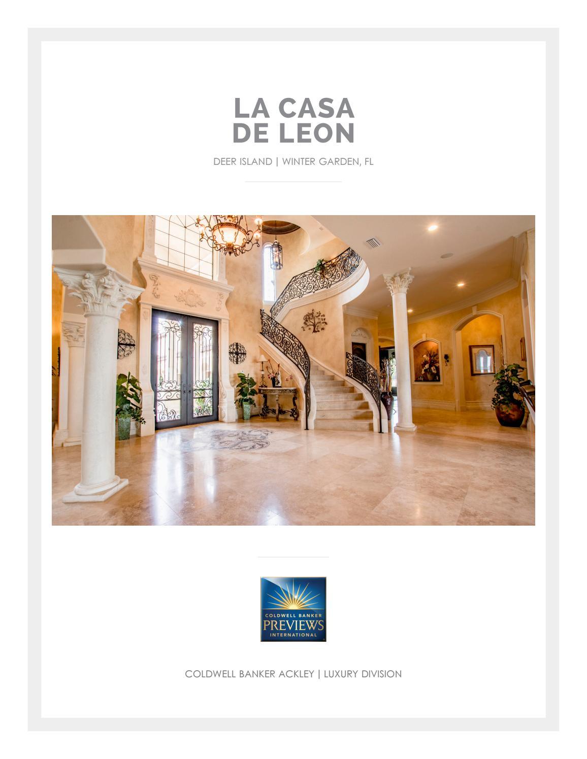 la casa de leon by gallery luxe issuu