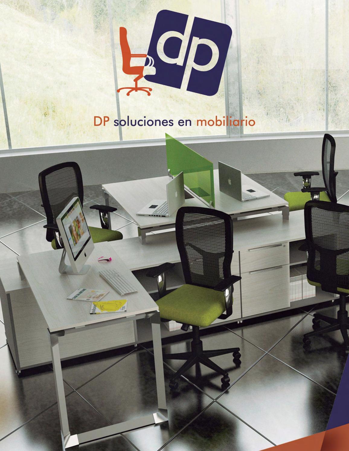 Dp catalogo mobiliario oficina by dp soluciones en for Catalogo mobiliario oficina