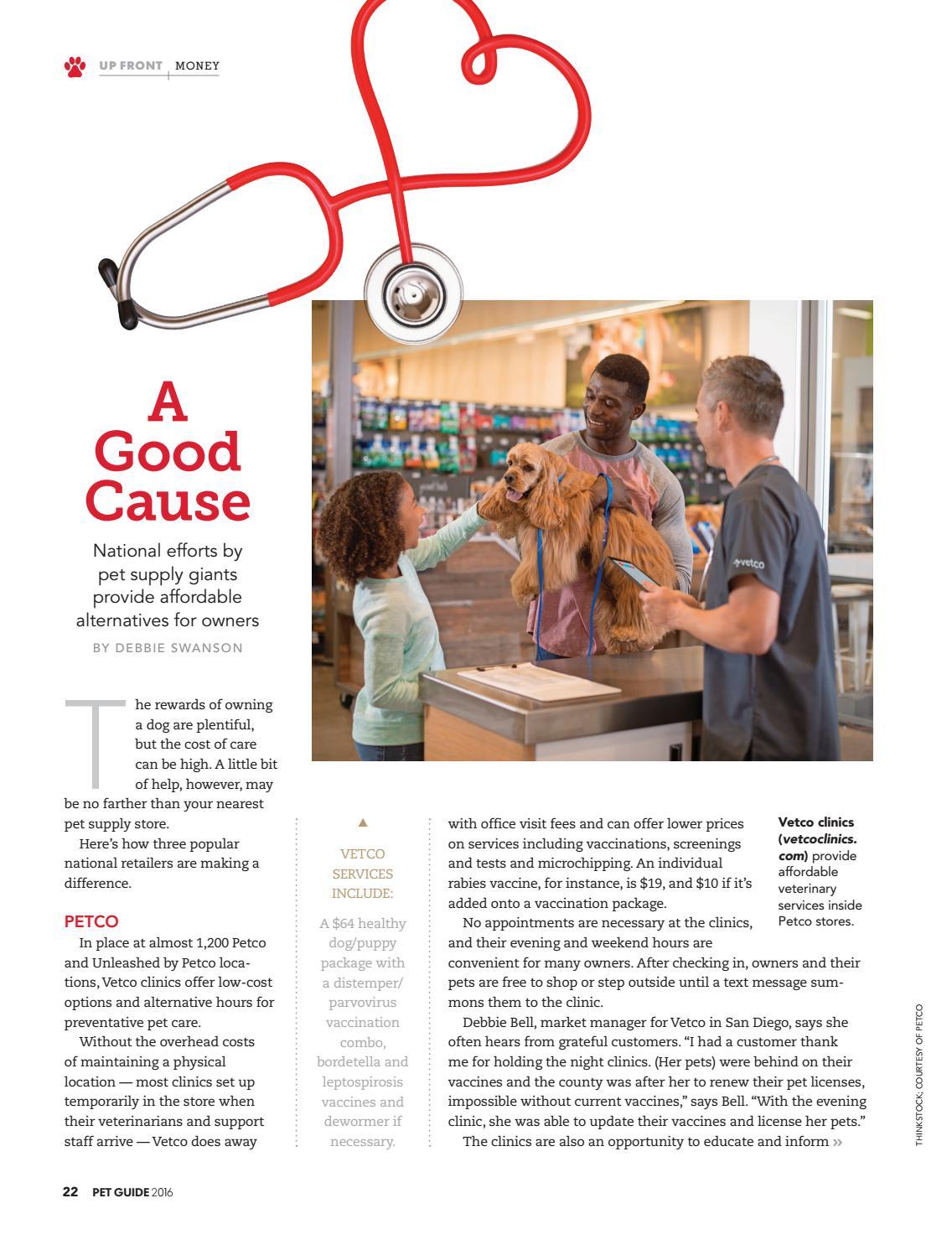 PET Guide Magazine 2016 by STUDIO Gannett - issuu