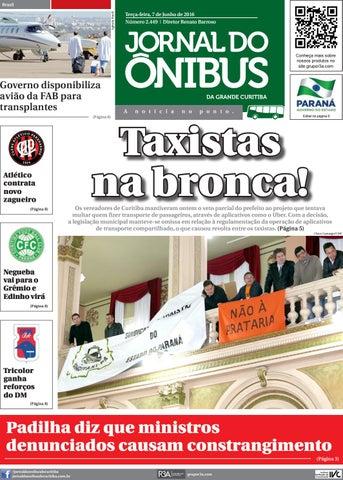 Jornal do Ônibus de Curitiba - Edição 07 06 2016 by Editora Correio ... 89c79068bfe0b