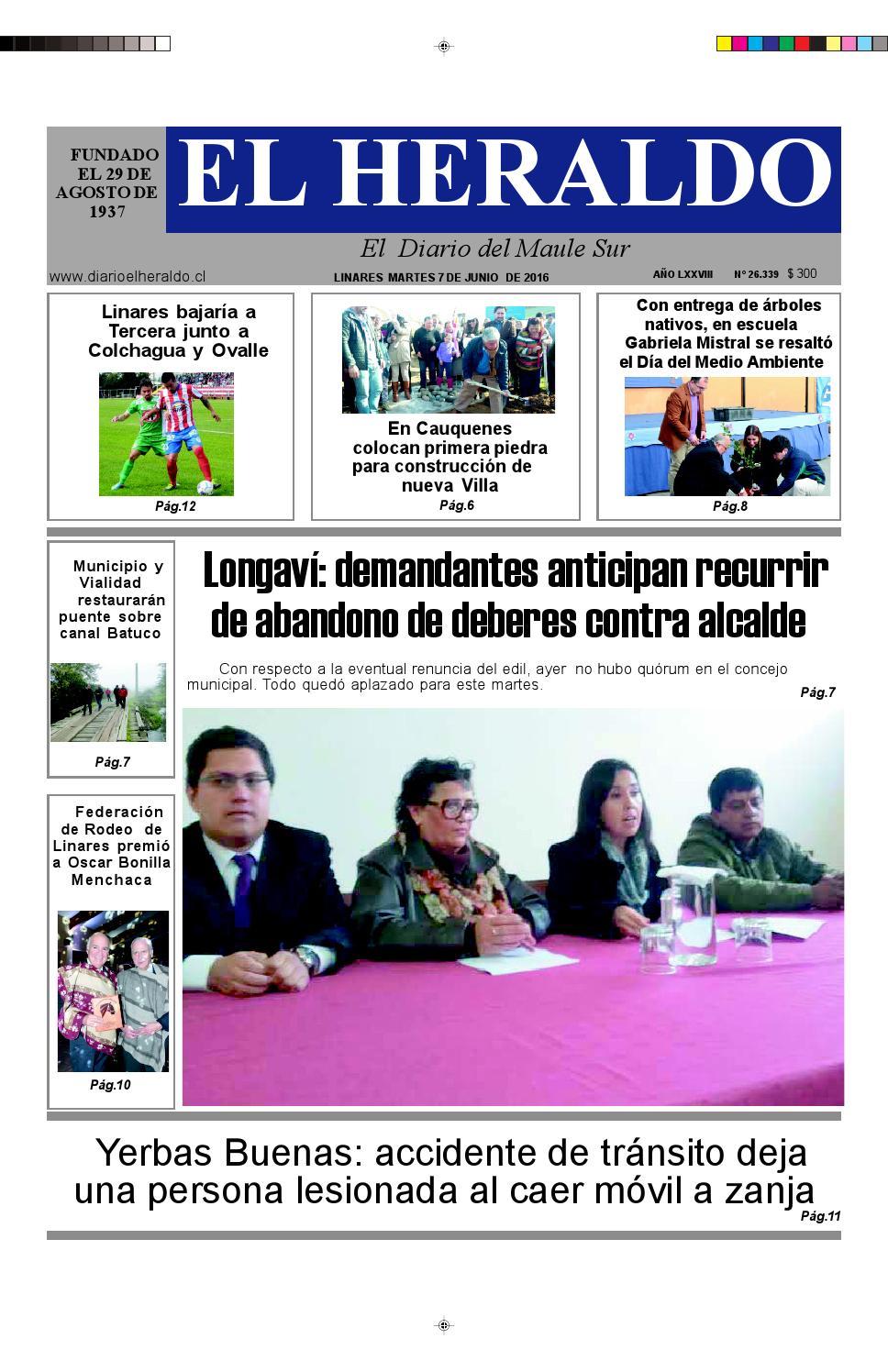 Haydee Gutierrez Menchaca martes 07 de junio 2016diario heraldo de linares - issuu