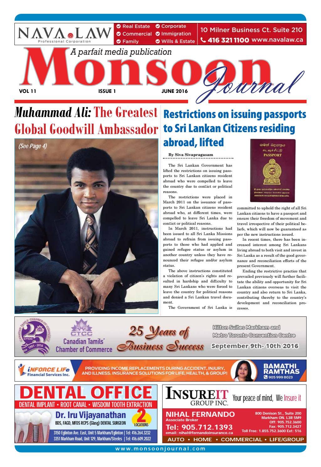 Mj June 2016 Web By Monsoon Journal Issuu
