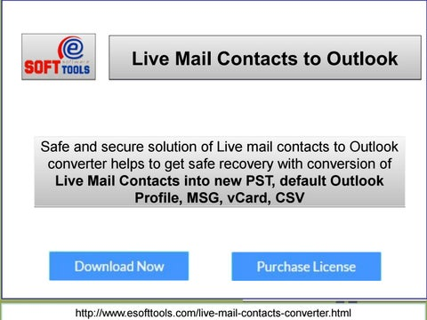 Windows Live Mail Contacts Converter Tool by docra pof - issuu