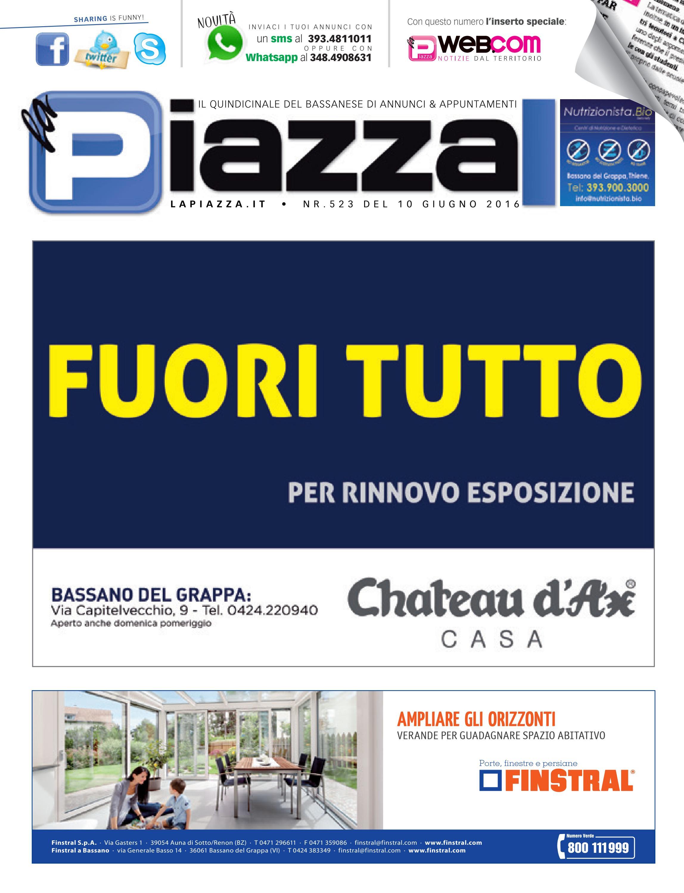 la Piazza di Bassano 523 by la Piazza di Cavazzin Daniele - issuu 2861c0bfee6